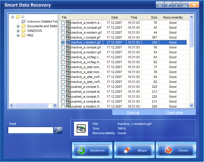 Smart data recovery free download images.